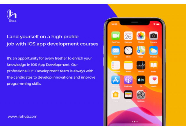 Land yourself on a high profile job with iOS app development courses