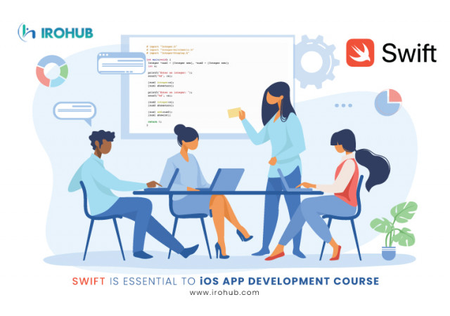 Swift is essential to iOS app development course