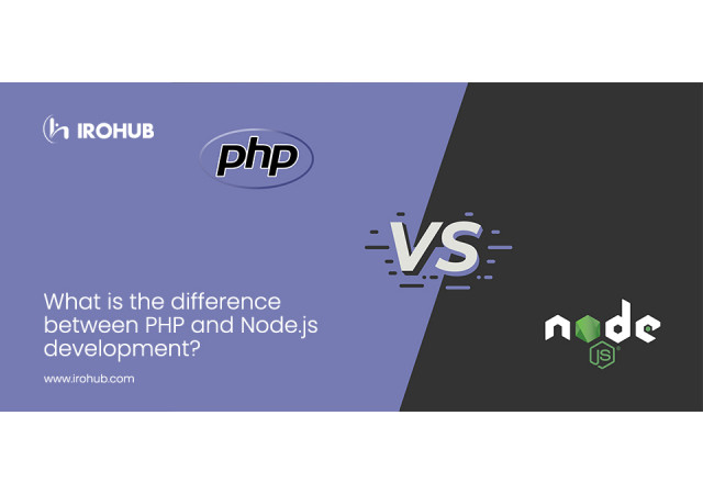 What is the difference between PHP and Node Js development?